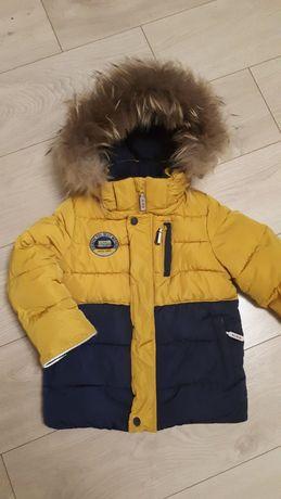 Комплект зимний (куртка+полукомбинезон) Kiko на мальчика р.98-110