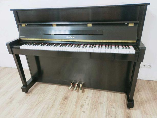 Pianino Kawai K 2 czarne, satyna