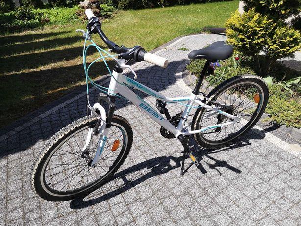 """Rower dla dziewczynki 24"""" Best  - Roxy."""