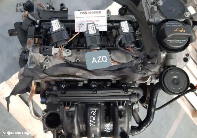 Motor Volkswagen Polo Seat Ibiza Skoda Fabia 1.2 Gasolina 2003 Ref.AZQ