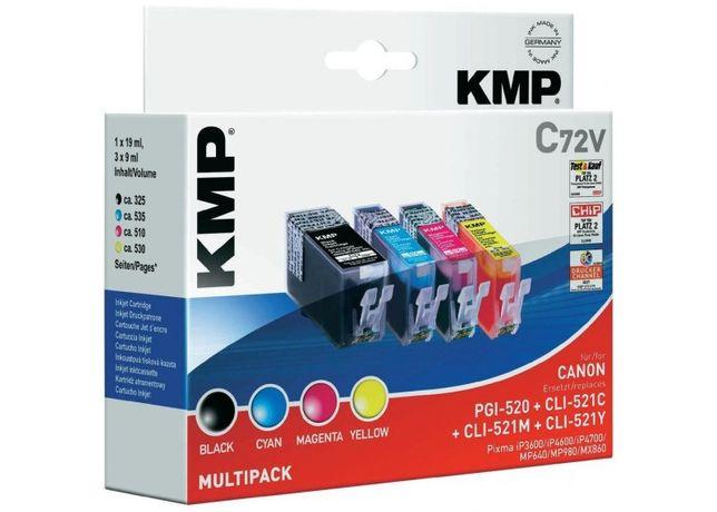 KMP C72V Kompletny Zestaw Tuszy DO CANON