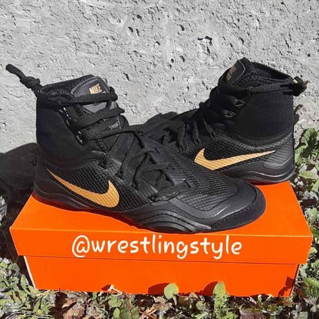 Борцовки, боксерки Nike Hypersweep, оригинал! Обувь Найк для борьбы!