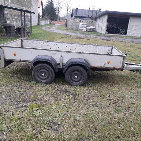 przyczepa dwuosiowa ciężarowa westwalia