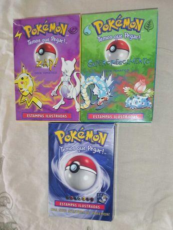 Decks Baralhos Cartas Pokémon 1ª geração (Nintendo 1999)