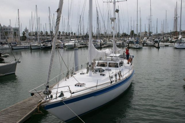Manutenção barco-veleiro