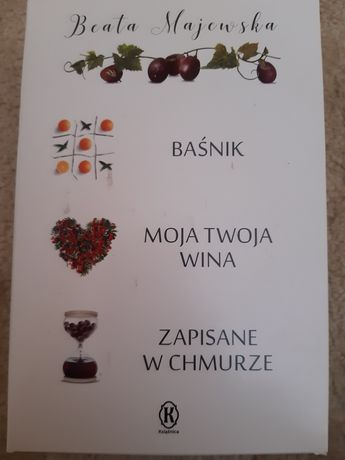 Pakiet książek Beaty Majewskiej 3 szt