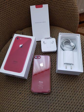 iPhone 8 Red 64GB IDEALNY jak Nowy bateria 100%