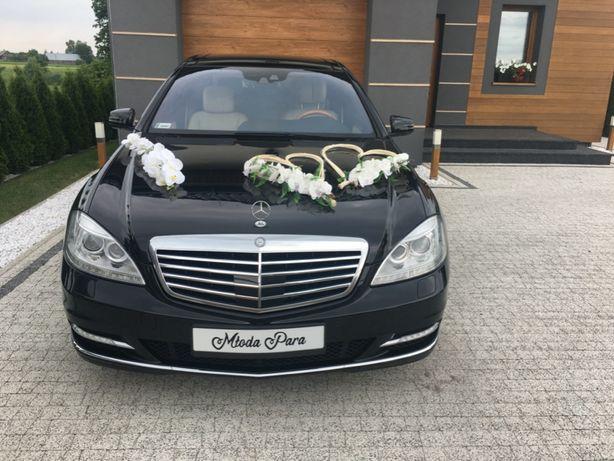 Zawiozę do ślubu Mercedesem S-klasą. Auto do ślubu. Zambrów i okolice