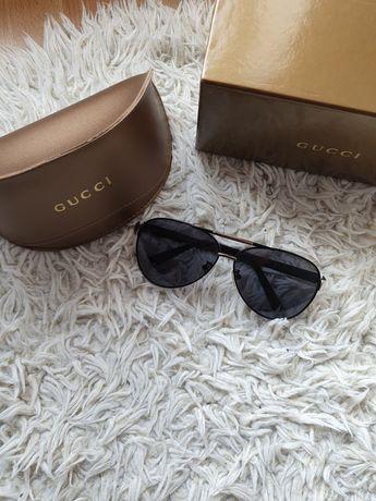 Okulary Czarne Gucci