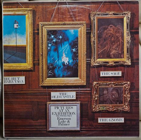 Emerson, Lake & Palmer ‎– Pictures At An Exhibition LP