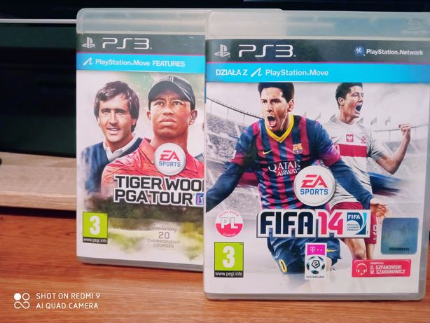 gry gra ps3 tiger woods fifa 14 playstation 4