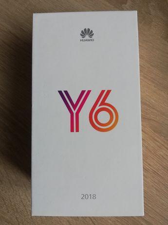 Sprzedam niebieski Huawei Y6 2018