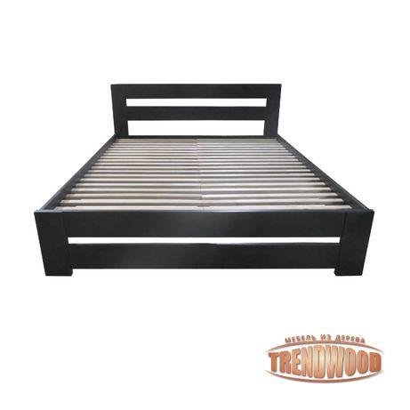 Кровать деревянная Тренд (ольха массив, ДУБ щит или ДУБ массив).