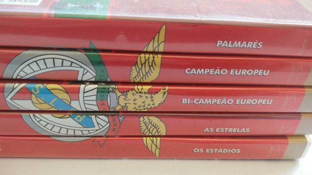 Coleção DVDs Benfica
