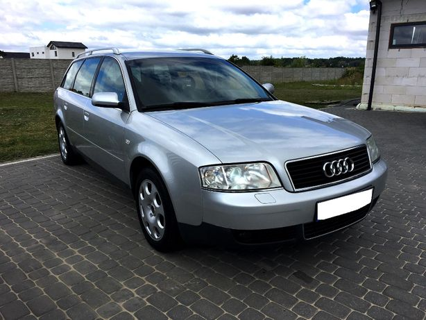 Audi A6 2,4 benzyna 2003r Lift// Serwis// manual// Kombi// Zadbany//**