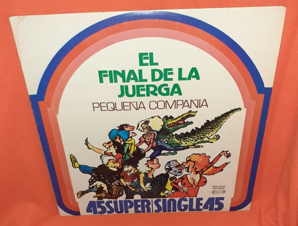 Disco Vinil- El Final de la Juerga