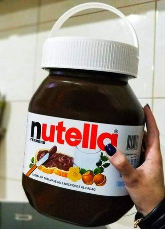Balde de Nutella 5kg - Decoração - Prenda Natal