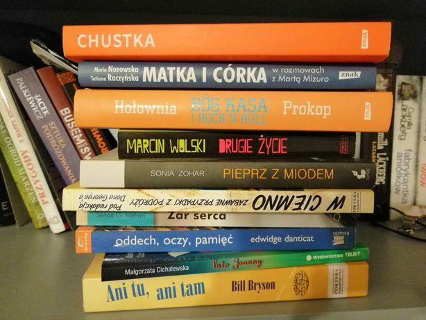 Książki różne podróżnicze wyprzedaż biblioteczki