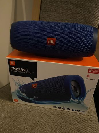 Głośnik JBL Charge 3 blue stan idealny!