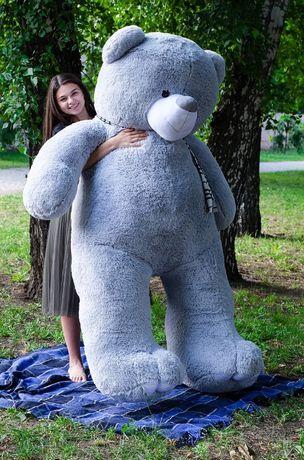Огромный Плюшевый мишка Ветли 250 см! Зевс среди медведей!