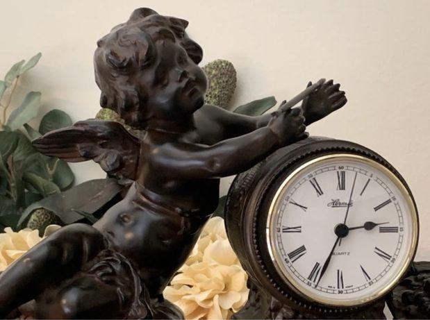 Relógio com Querubim - Anjo ao estilo Vitoriano -Franz Hermle