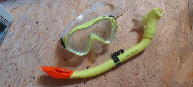 Okulary i rurka do nurkowania Martens