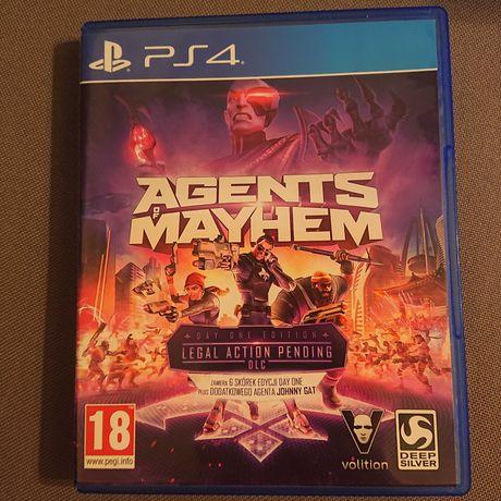 PS4 gra Agents of MAYHEM