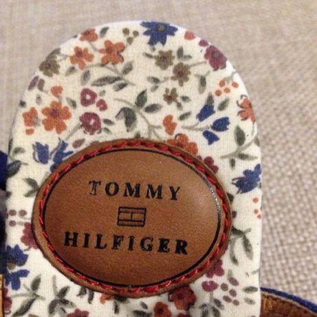 Босоножки замшевые новые Tommy Hilfiger 38 Р.
