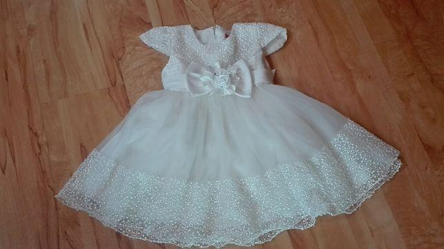 Sukienka dla dziewczynki r.92-98