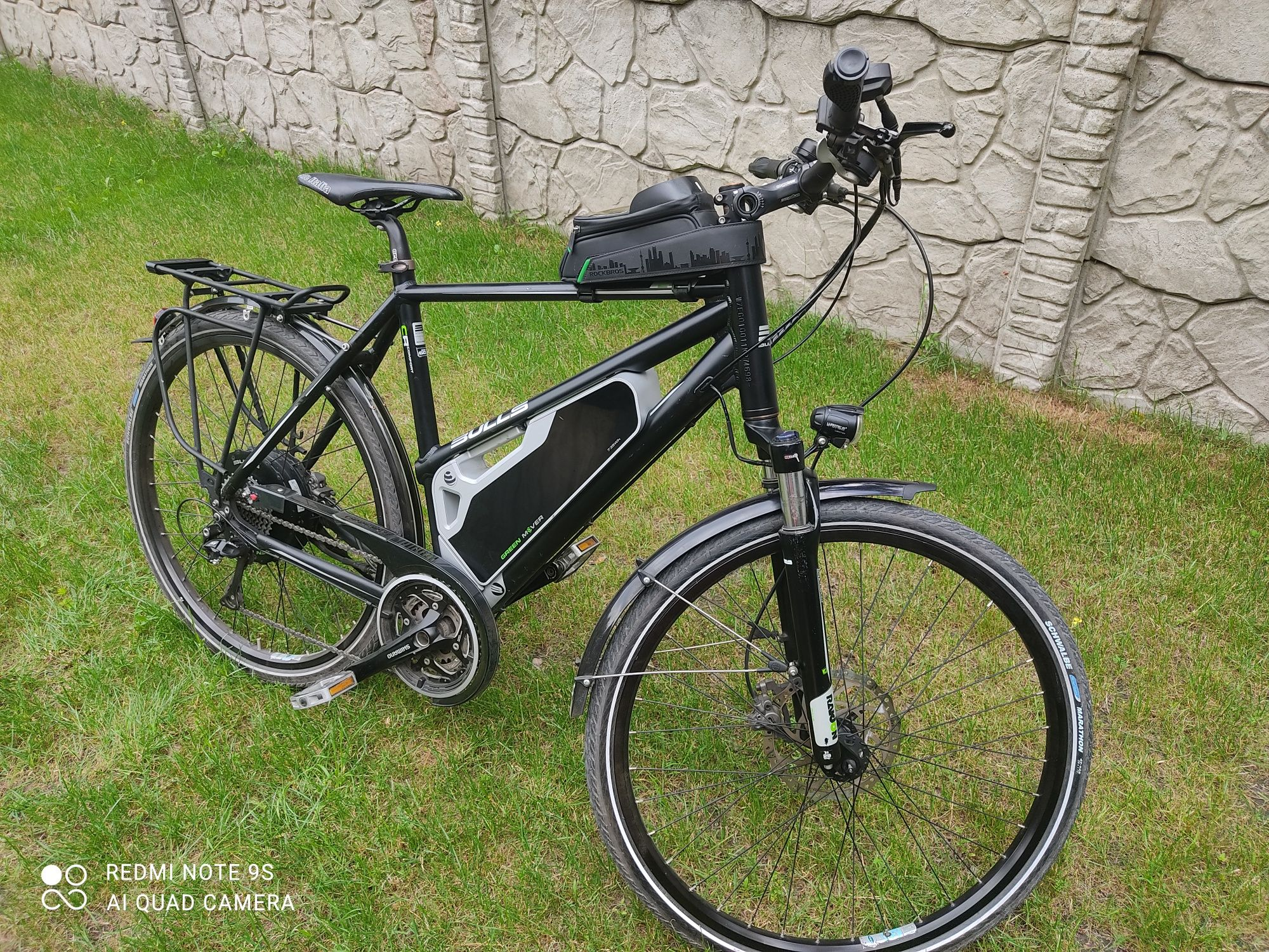 Rower Elektryczny Bulls Green Mover E45 500 W 20,4 AH 734 WH 10x3 XT