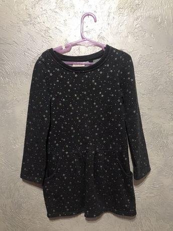 Теплое платье туника next 4р 104 см