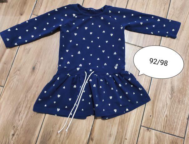 Sukienka 92-98 piękna