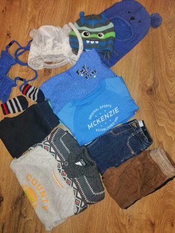 Paka ubrań dla chłopca 86/92 Zara, h&m, Smyk, McKenzie, lupilu
