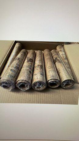 Рулон бумаги крафт 30см*10м
