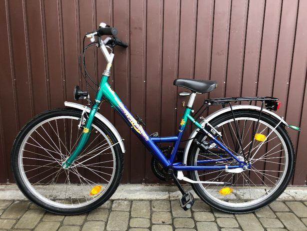Rower dziecięcy SWITCH BACK/rama 36 cm/koła 24 cale/SACHS Spectro T3