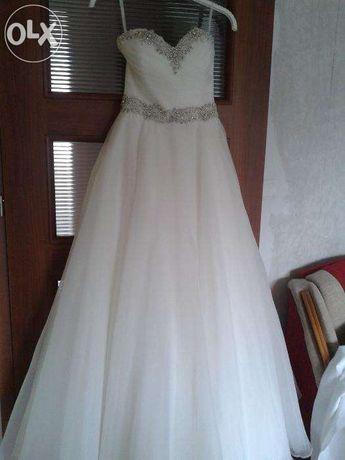 Njapiękniejsza suknia ślubna Justin Alexander 8718 kolekcja 2014! hit