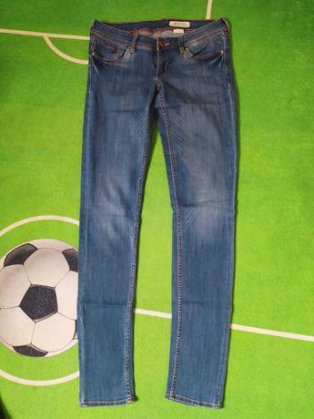 Spodnie jeansy damskie 38