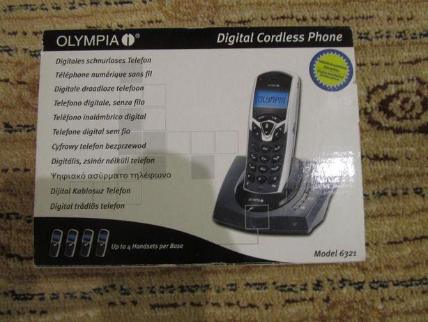 telefon bezprzewodowy firmy Olympia model 6321