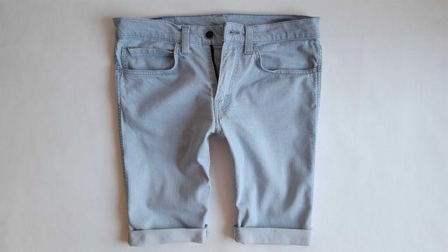 LEVIS 511 mega spodenki szorty jeans męskie niebieskie W34 L pas 44 cm