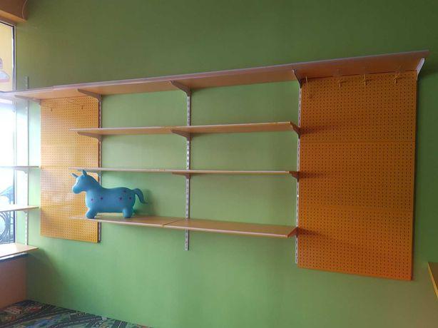 Недорого! полки, стелажі, LED панелі, мебель, ліноліум