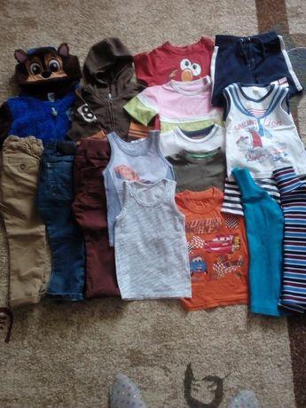 Пакет одягу на хлопчика 104