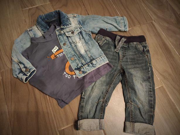 Куртка (джинсовка), джинси, кофта (Next, Zara, George)