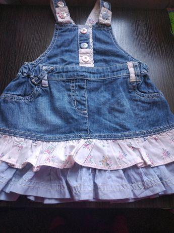 Детский джинсовый сарафан