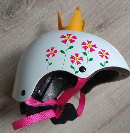Kask rowerowy dla dziewczynki