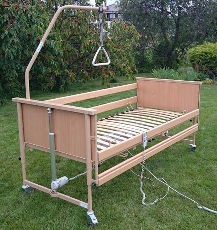 Łóżko rehabilitacyjne, elektronicznie sterowane firmy Linak