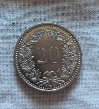 20 раппенов, Швейцария 2011, 1965
