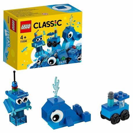 Новый конструктор синий Lego classic