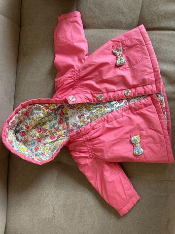 kurtka dla dziewczynki 3-6 msc.