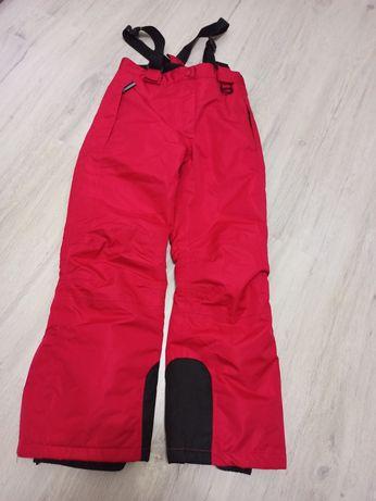 Spodnie narciarskie 134/140 jak nowe