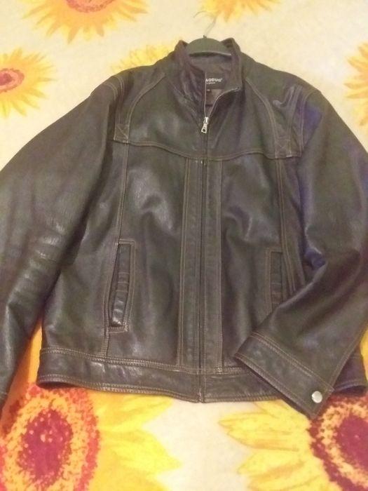 Куртка шкіряна чоловіча 48р Борислав - изображение 1